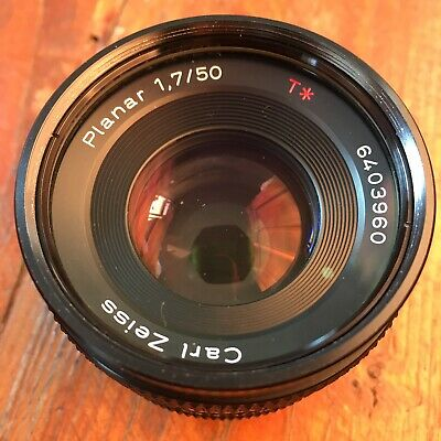 Contax Carl Zeiss Planar 50mm F1.7 Lens With LUMIX Micro 4/3 Adaptor