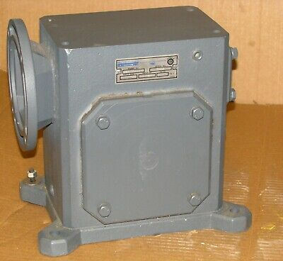 New Sterling Electric Worm Gear Speed Reducer #325AQ080142 - 80:1 ratio