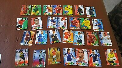 Panini Trade Cards World Cup 2010 Adrenalyn XL 27 inc 2 Goal Stoppers 1 Champion