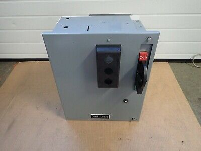 "Allen Bradley 18"" 2100 MCC Empty Bucket Breaker Operator and Door  USED"