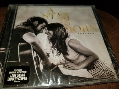 A Star Is Born {CD 2018} Lady Gaga/Bradley Cooper Small Crack right side case
