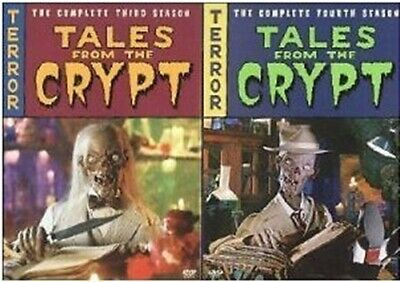 TALES FROM THE CRYPT TV SERIES COMPLETE THIRD AND SEASONS New Sealed DVD 3 4