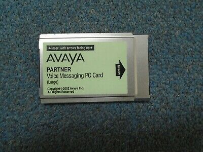 Avaya Partner ACS Voice Messaging Large PC Card VMPC CWD4B Release 3.0 700226525