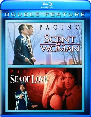 SCENT OF A WOMAN + SEA OF LOVE New Sealed Blu-ray Double Feature Al Pacino