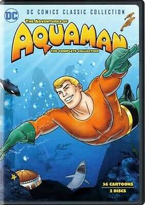 THE ADVENTURES OF AQUAMAN COMPLETE COLLECTION New DVD 1967 Animated Series