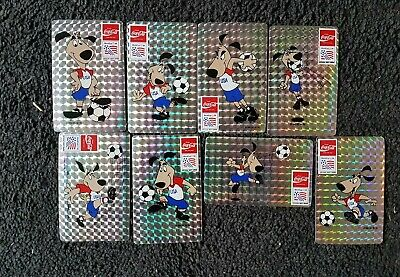 Coca Cola USA World Cup 1994 Stickers Decals. 8 in a set