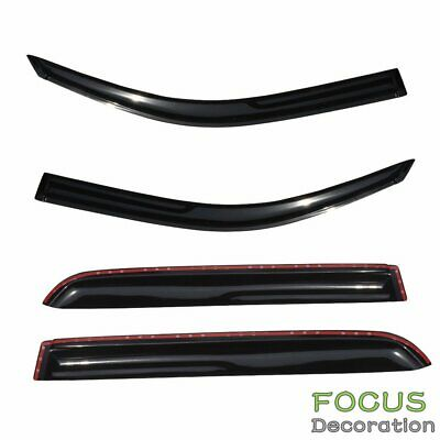FOR EXPLORER UN46//105//150 SMOKE TINT WINDOW VISOR//WIND DEFLECTOR VENT RAIN GUARD