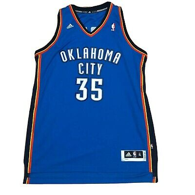 sale retailer 562ef 22924 KEVIN DURANT OKC Thunder Adidas Youth Jersey - Small ...