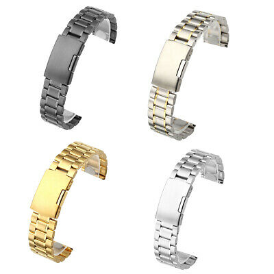 Replacement Bracelet Stainless Steel Watch Band Strap Bracelet Wrist 20/22mm
