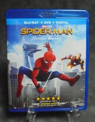 Spider-Man: Homecoming Blu-ray (2017)
