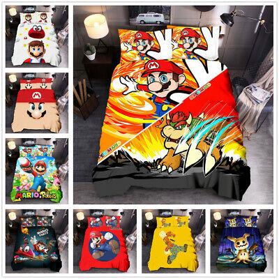 Super Mario Odyssey Twin Full Bedding Bed In Bag W