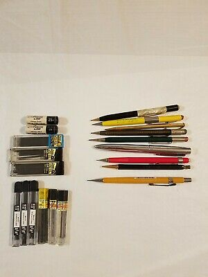 Vintage Mechanical Pencils Us Government Bell System Sheaffer Lead  Mixed Lot