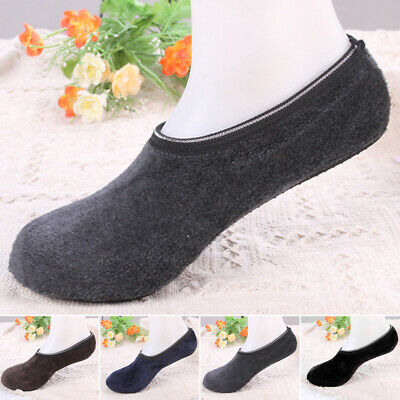 Cute Socks Warm Thicken Bed Sock Non Slip Slipper Solid Color 2019 Brand New
