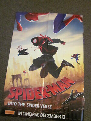 Spiderman: Into The Spider-verse/Mortal Engines poster