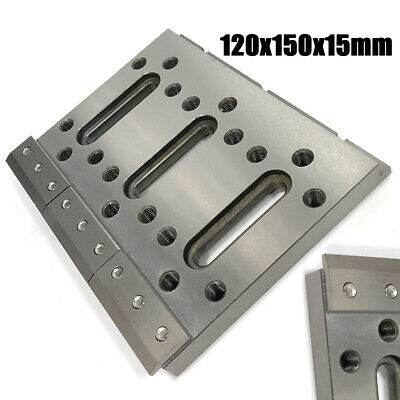 NEW 120x150x15mm Wire EDM Fixture Board Jig Tool Stainless Clamping & Leveling