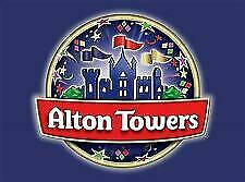 2 x Alton Towers  E-Tickets -Sunday 11h August 2019  11/08/19