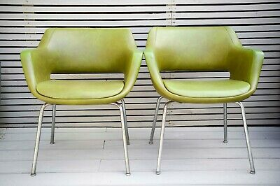 2 KILTA ARM CHAIRS BY OLLI MANNERMAA FOR MARTELA OY, FINLAND, 1960s