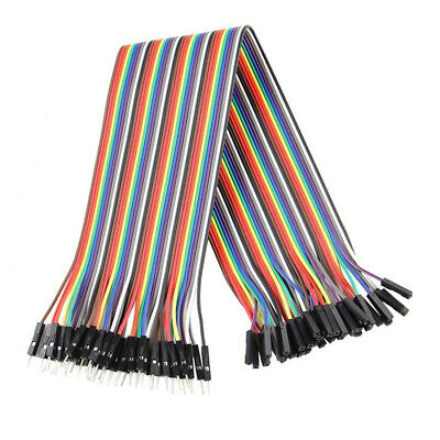 Wire DuPont Male to Female 1p-1p PVC Jumper Cable For Arduino Breadboard New Hot
