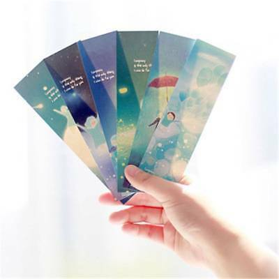 30pcs Star Bookmark Gift Book Marks Stationery Cute Marque Page Paper Craft