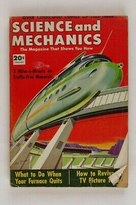6 x  Mechanics Magazine - Mecanique Populaire (1948-1957)