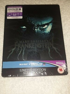 Mary Shelley's Frankenstein Steelbook Edition New and Sealed