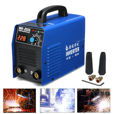 Welder Inverter ARC MMA 250Amp Welding Machine DC iGBT Stick LCD Portable