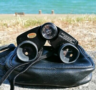 Vintage Bushnell Custom Compact Binoculars 7x26 CF Model Retro with Genuine Case