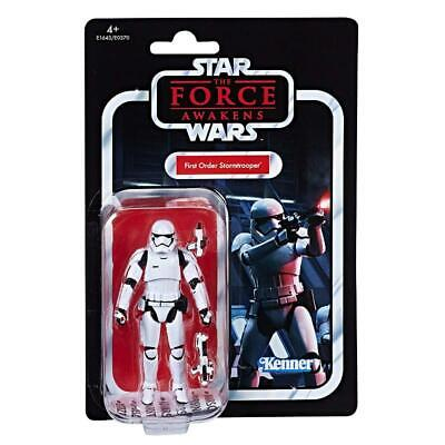 "Star Wars Force Awakens First Order Stormtrooper Vintage Kenner 3.75"" Figure"