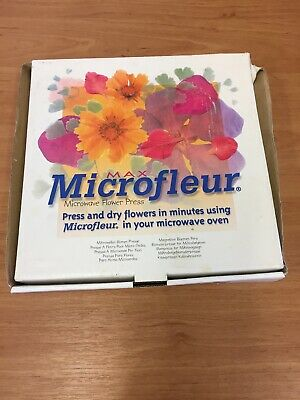 Boxed Microfleur - Microwave Flower Press (D2)