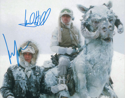 Mark Hamill / Harrison Ford ( Star Wars ) Autographed Signed 8x10 Photo REPRINT
