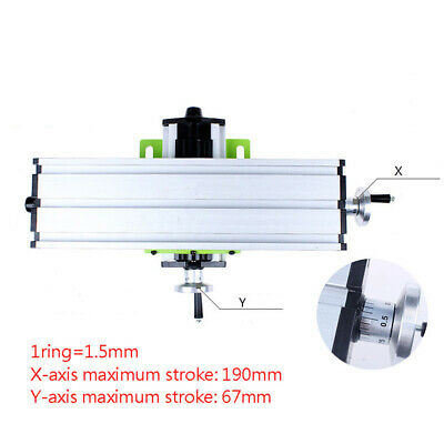 Tool Worktable Milling Machine Bench 31*90cm Precision Compound Multifunction