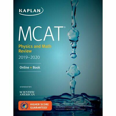 MCAT Physics and Math Review 2019-2020: PDF DIGITAL ONLY (Test Prep) + Bonus!