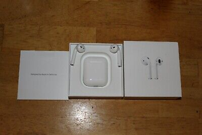 Apple Airpods WITH NON Charging Case White 2nd Generation MV7N2AM/A