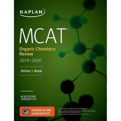 MCAT Organic Chemistry Review 2019-2020: PDF DIGITAL ONLY (Test Prep) + Bonus!