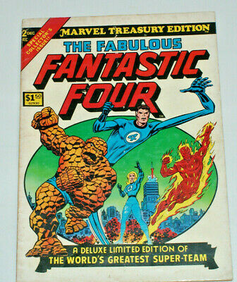 Marvel Treasury edition THE FABULOUS FANTASTIC FOUR Vol.1 No.2 1974