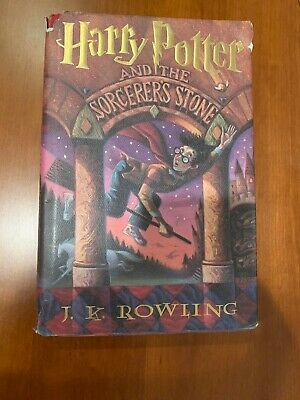Harry Potter And The Sorcerer's Stone Book Hardcover J.K. Rowling 1st Edition