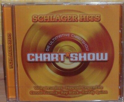 CD Schlager Hits Die ultimative Chart Show verschiedene Interpreten (Audio CD)