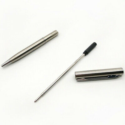 1X Stainless Steel Pen Ball Point Office Ballpoint Writing Student Stationery TF