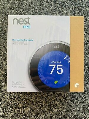 Nest 3rd Generation Learning Stainless Steel Programmable Thermostat Pro Open Bx