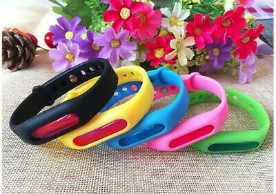 IPC Anti Mosquito Pest Insect Bugs Repeller Repellent Child Wrist Band Bracelet