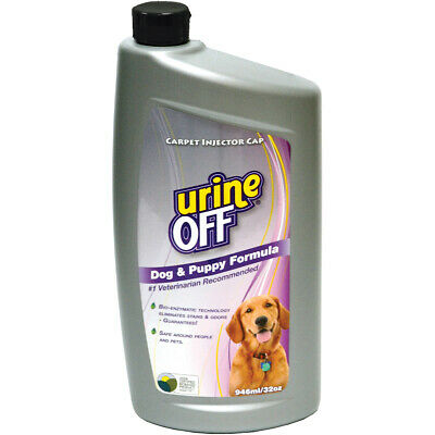Urine Off Odour & Stain Remover Cleaner Carpet Injector - Dogs & Puppies 946ml