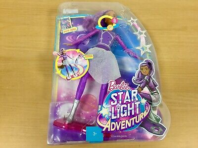 Mattel - Barbie Star Light Adventure - Doll with Flashing Hoverboard