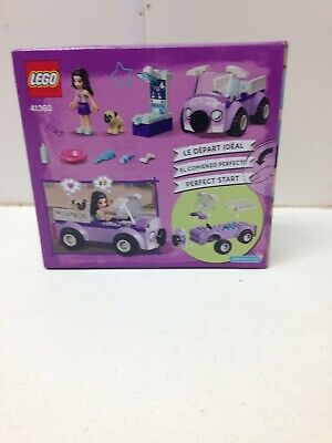 New Lego Friends 41360 Emmas  Mobile Vet Clinic Factory Sealed NIB