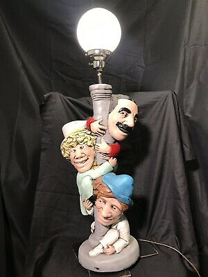 """Groucho"" & Marx Brothers Street Light Lamp Statue THEATRICAL CREATIONS *RARE*"