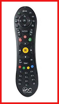 Virgin Media TiVo Remote 100% Genuine, WITH 2 X AA BATTERIES INCLUDED