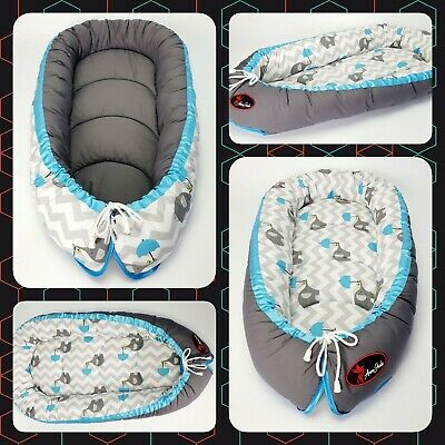 Baby nest pod cocoon cushion bed infant sleep reversible CHEAPEST HIGH QUALITY