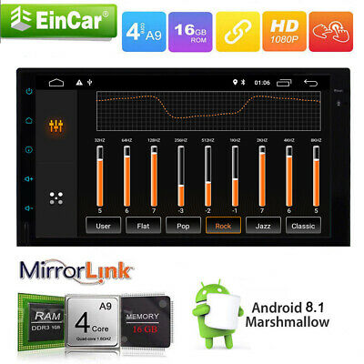"""Double 2Din 7"""" Touchscreen Android 8.1 RAM 2G Car Radio GPS MP5 Stereo Wifi OBD"""
