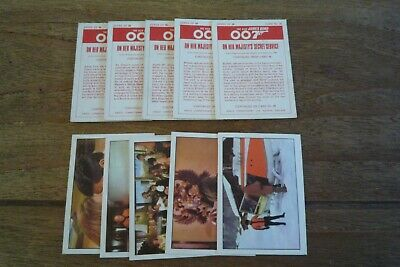 Anglo - The New James Bond 007 Cards from 1970 - VGC! - Pick The Cards You Need!
