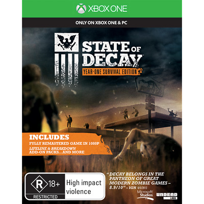 State of Decay Year One Survival Edition preowned - Xbox One - PREOWNED