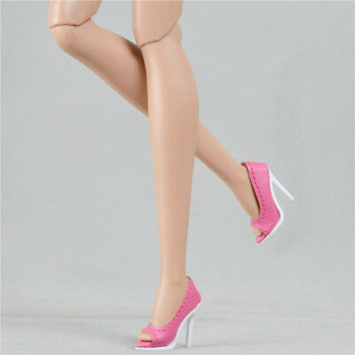 Sherry pink shoes for Fashion royalty Ⅱ FR2 Nu Face 2 body doll 14-FR2-05